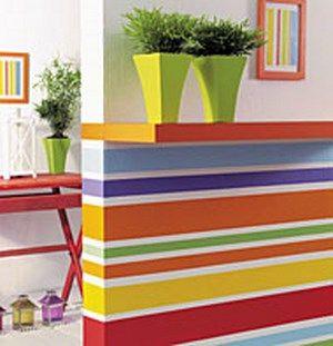 Peinture design personnalisez vos murs id e peinture for Decoration murale verticale