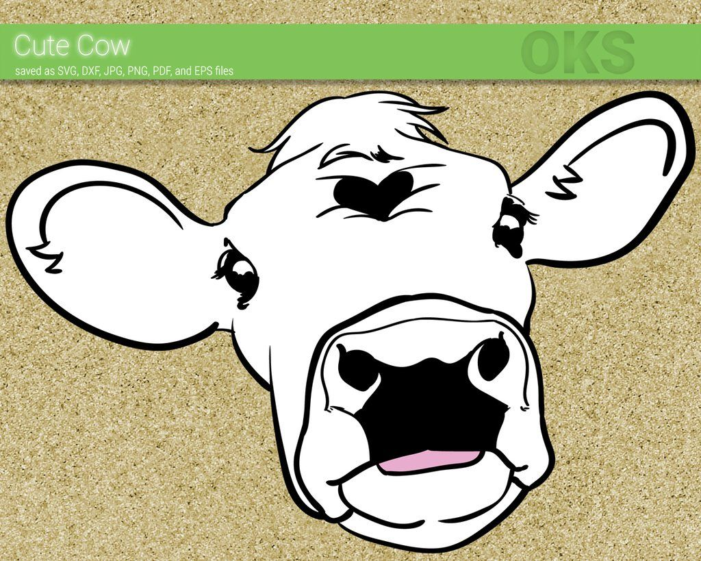 Style Guide Clker Cartoon Cow Face Cow Drawing Cartoon Cow
