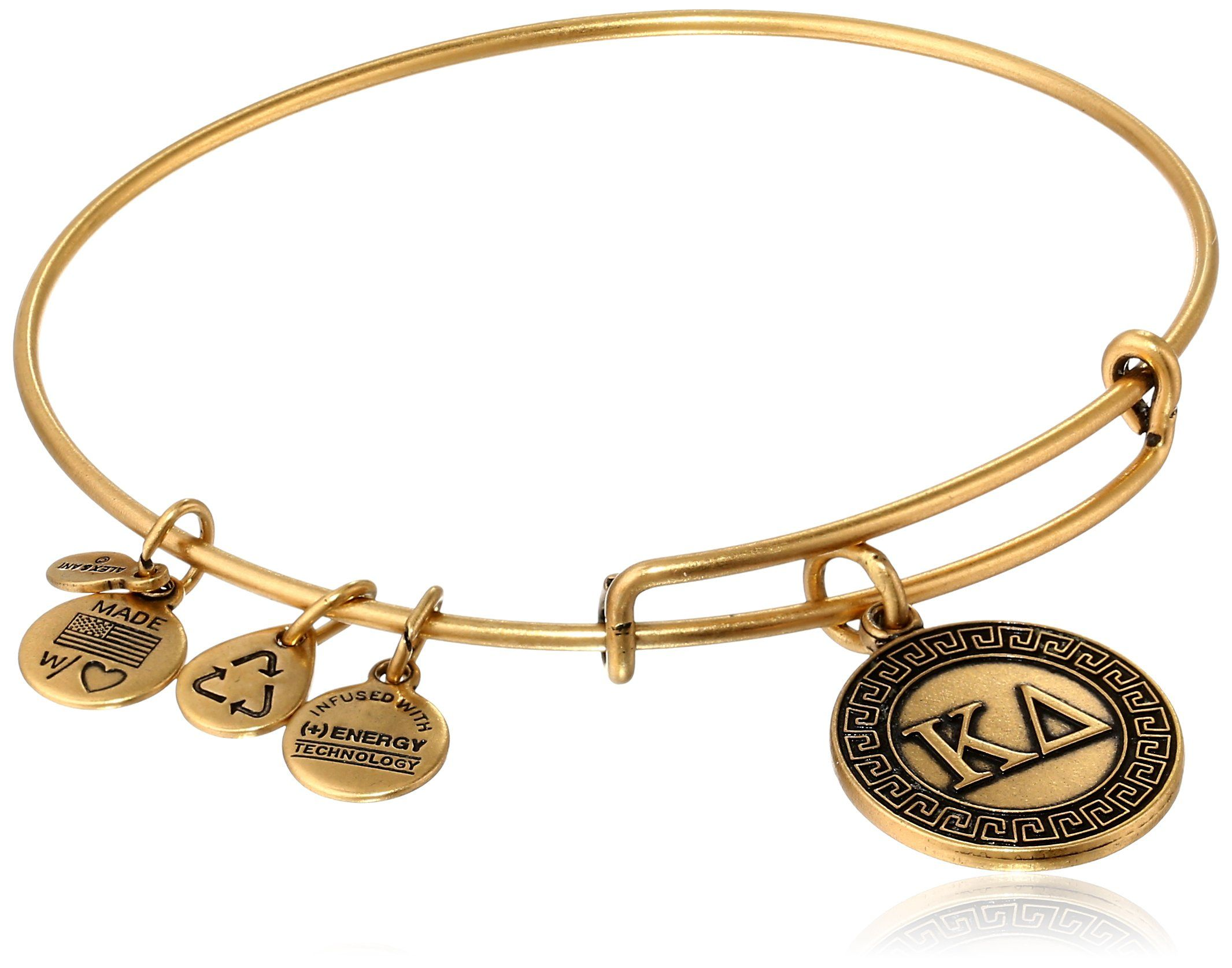 expandable vary are kappa bangle rafaelian in shape eds items pin alex may bracelet and sorority size that delta color handmade wire gold ani tone