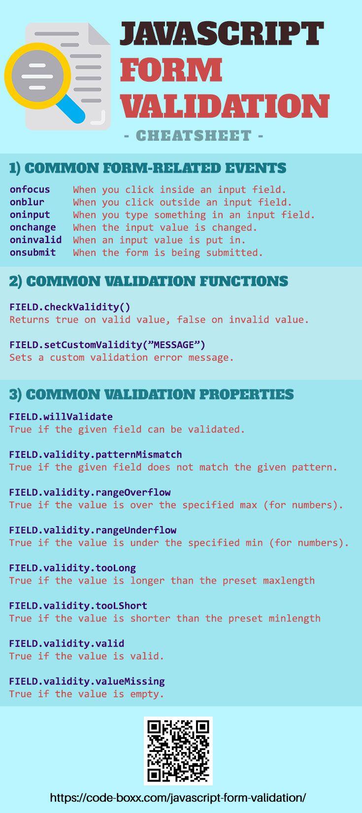 Javascript Form Validation Basics #gypsysetup