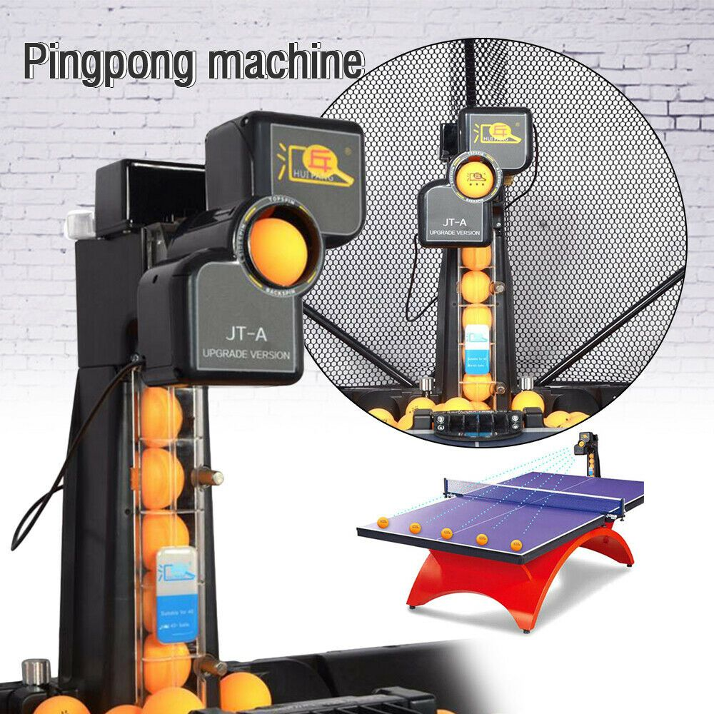 Advertisement Ebay Jt A Automatic Table Tennis Ping Pong Ball Training Machine Recycle W Catch Net Table Tennis Robot Table Tennis Ping Pong