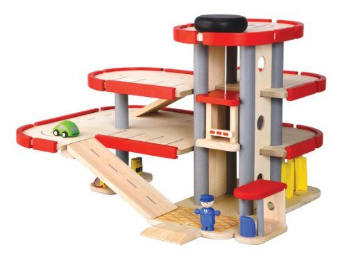 Parking garage Sauls Birthday Board Pinterest – Plan Toys Car Garage