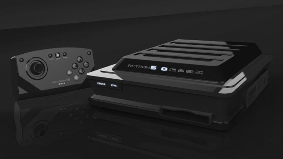 RetroN 5: Plays NES, SNES, Sega Genesis, Famicom, Game Boy Advanced, Game Boy Color and original Game Boy cartridges.