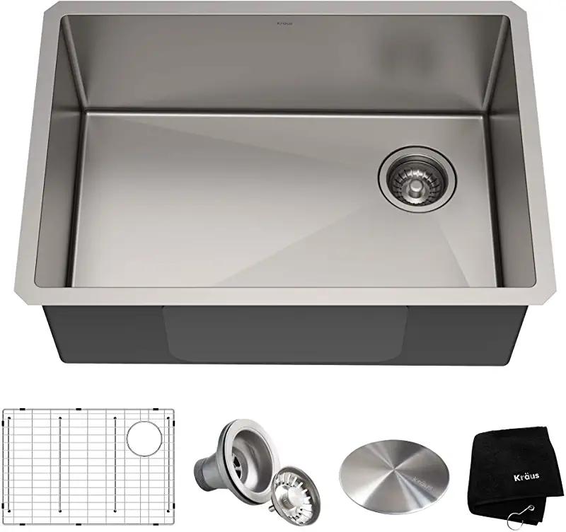 Amazon Com 27 Inch Undermount Sink Tools Home Improvement Stainless Steel Kitchen Sink Undermount Sink Stainless Steel Kitchen