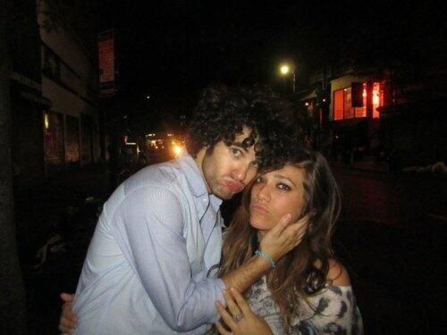 Darren Criss and Mia Swier.