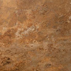 Style Selections Sedona Slate Cedar Glazed Porcelain Indoor Outdoor Floor Tile Common X Actual