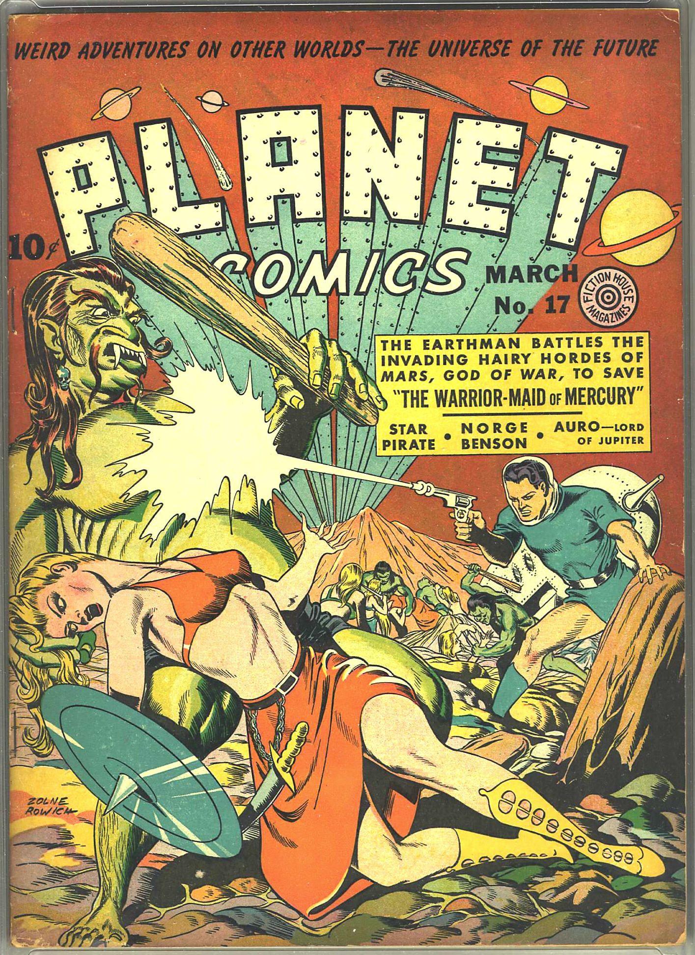 Comic Book Cover Paper : Digital comic museum viewer planet comics paper