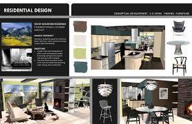 Interior Design Digital Presentation Boards Decoomo Boards include rendered floor plans and elevations and concept images. interior design digital presentation