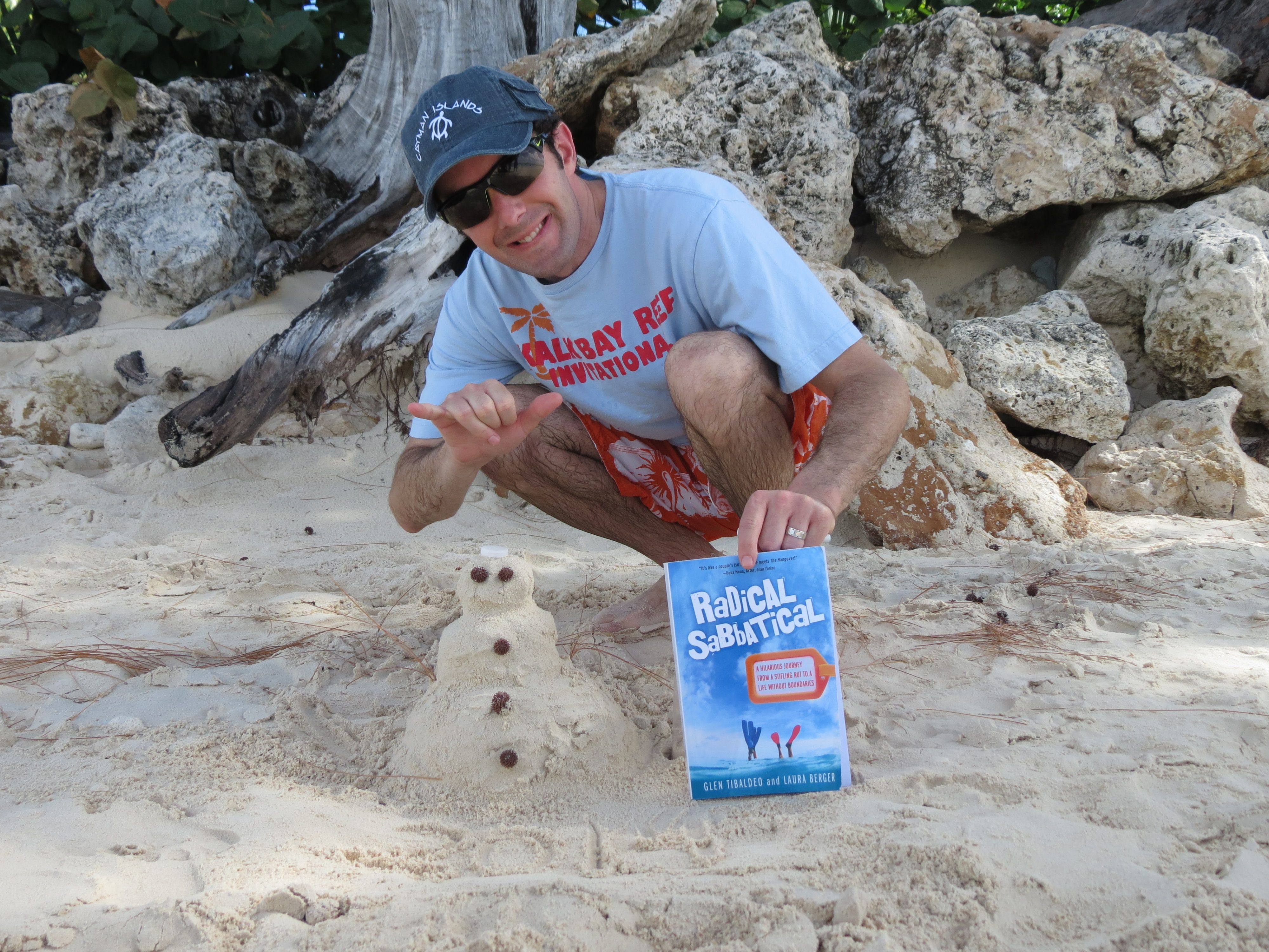 Thanks Dave for this awesome New Years photo while on your own Radical Sabbatical! Happy 2014 to all and keep those photos coming in. Fun to see where Radical Sabbatical will show up next. Not sure if anyone can top the sandman here  Very creative. #RadicalSabbatical #GrandCayman