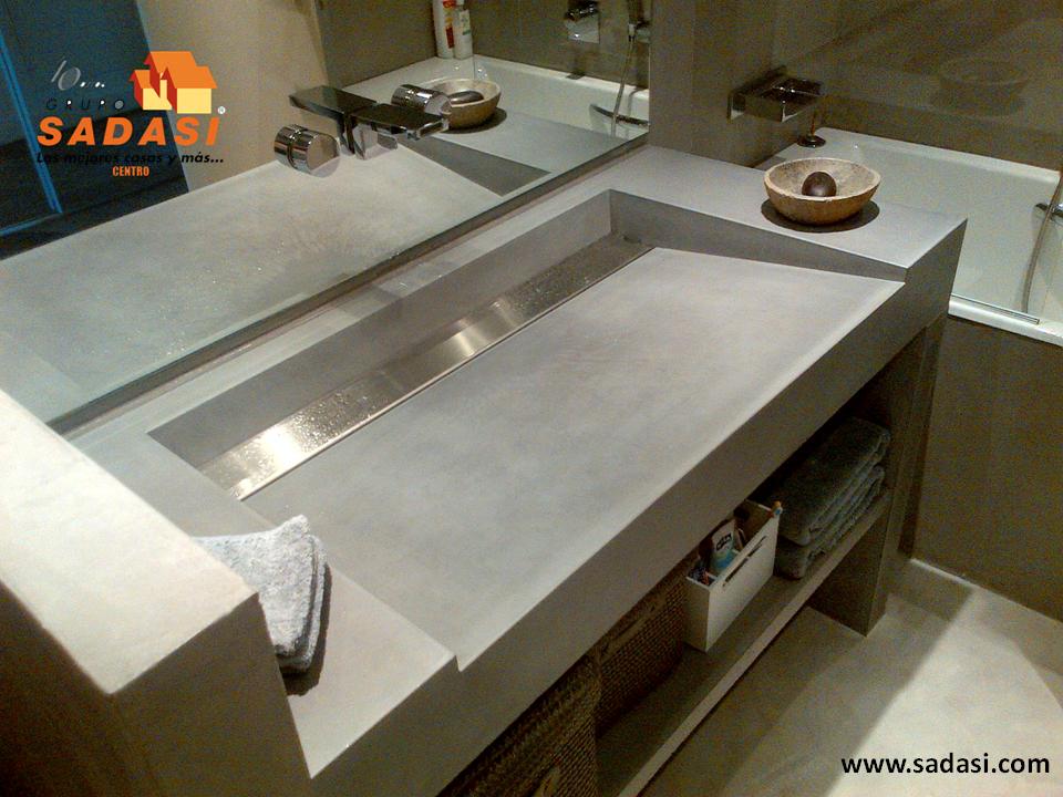 Hogar las mejores casas de m xico los lavabos de for Material parecido al marmol