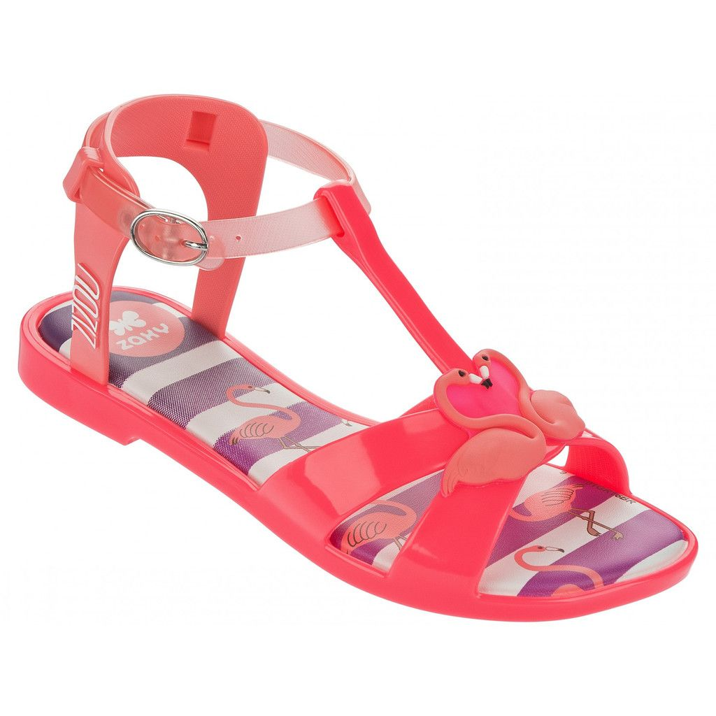 Zaxy Kids: Zizou Sandal Little Kid/Big Kid (Pink)