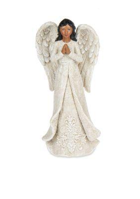Ganz  8-in. African American Praying Angel Figurine