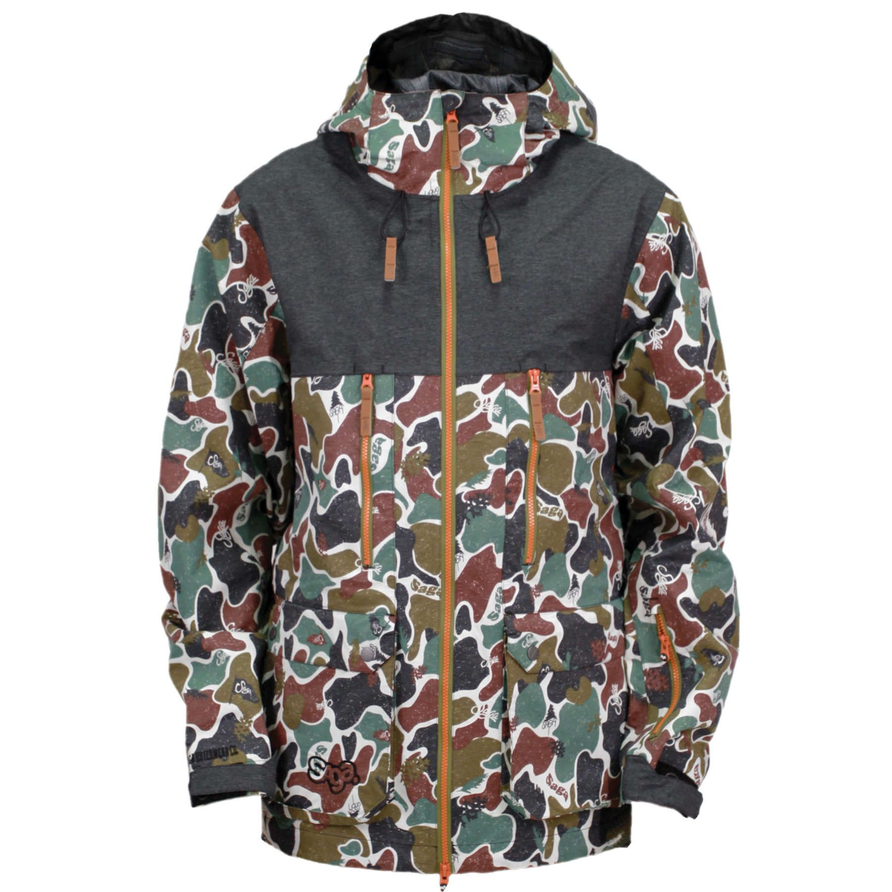Saga Monarch 3l Jacket Jackets Snowboard Jacket Fashion [ 1800 x 1800 Pixel ]