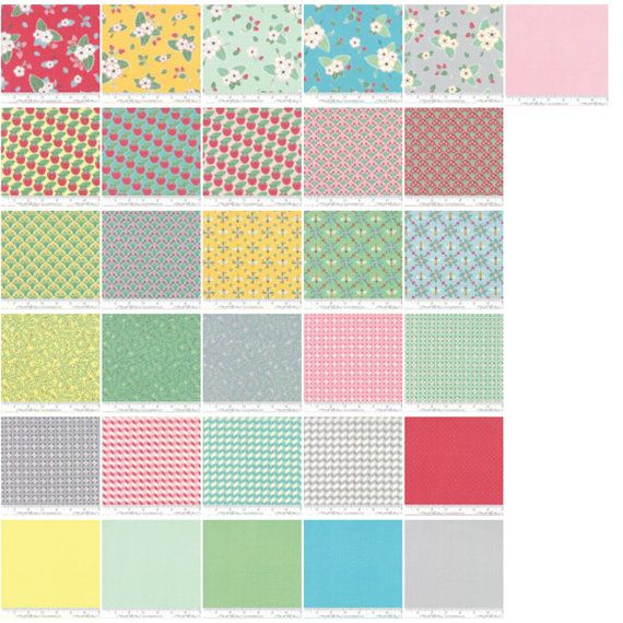 Bumble Berries Mini 2.5 Charm Pack by The Jungs by crazyquiltgirl