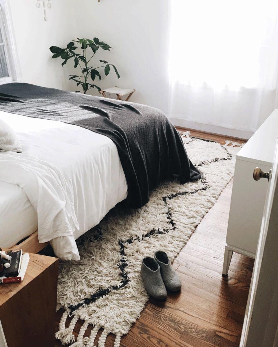 choisir un tapis pour la déco de la chambre | tapis deco, deco