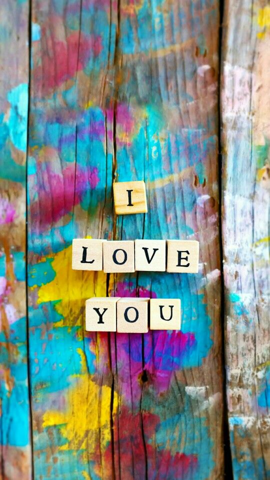 Colours Hd Wallpapers I Love You Fondos