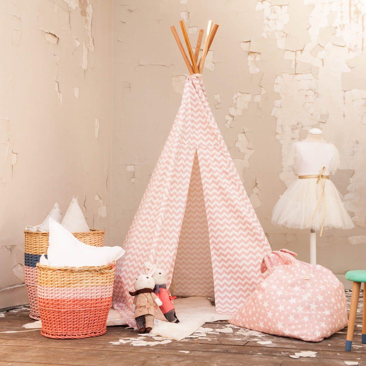 Inspiracion decorar cuarto de juegos con un tipo rosa | cuartos ...