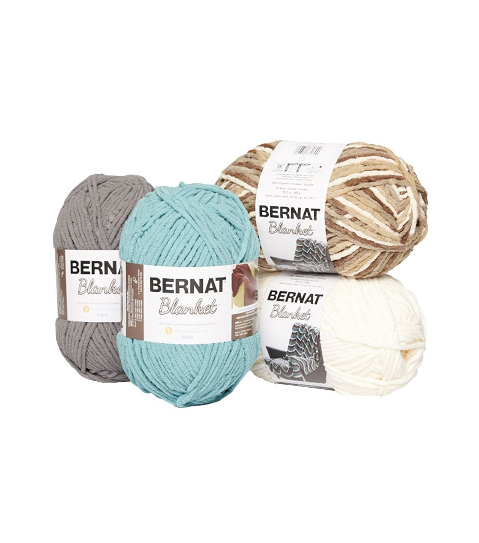 Bernat Blanket Big Ball Yarn - Cloudy Sky Twist - Yarn & Needle Arts ...