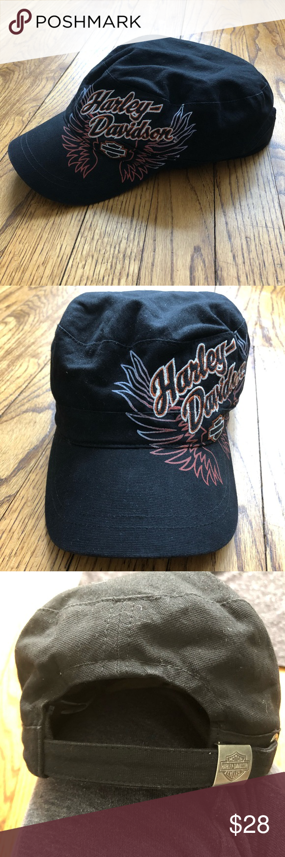 d2fc613eff2e9 Harley-Davidson Women s hat Lightly worn! In great condition! From a pet  and smoke free home! Bundle 3 or more and save 10%!! Harley-Davidson  Accessories ...