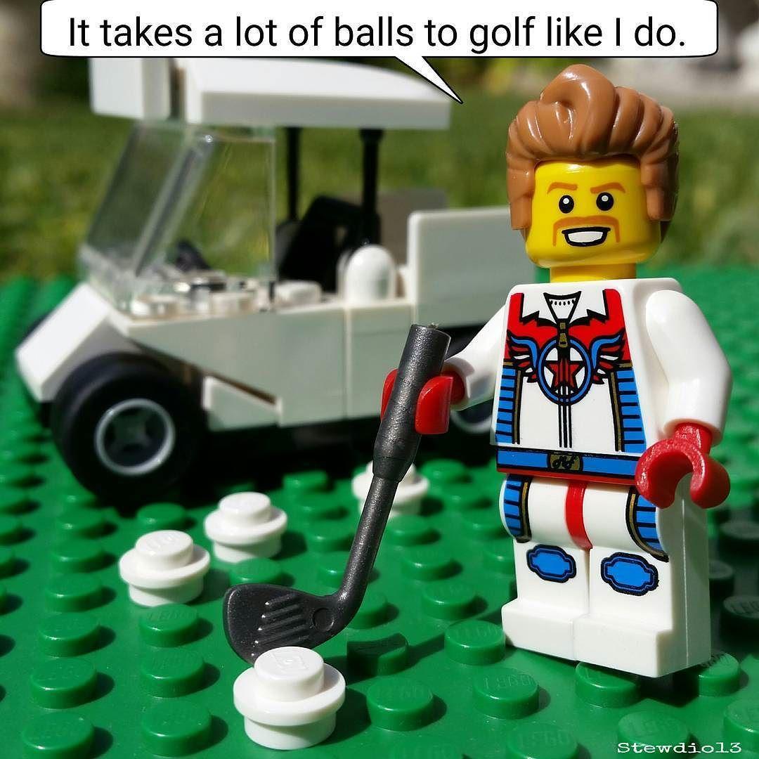 Golf Balls.  #evelknievel by stewdio13