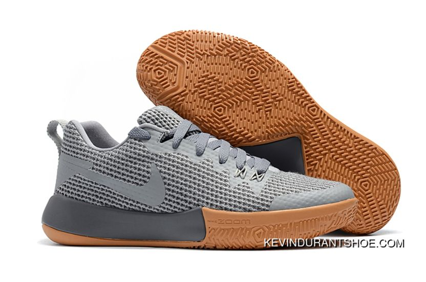 383c6b02f0f New Release Nike Zoom Live Ii Ep Cool Grey Gum Men s Basketball Shoes