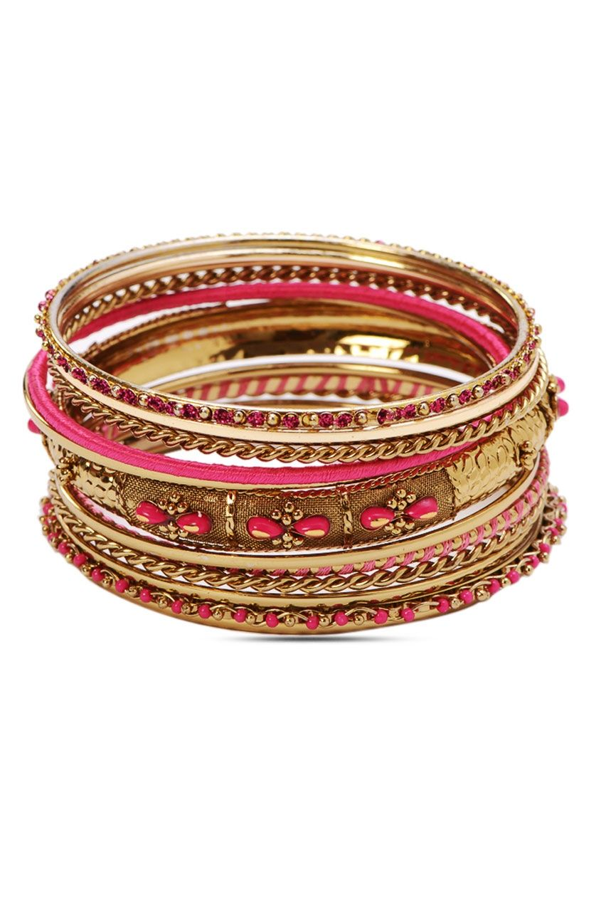 Antique adore bangles stack rs juvalia