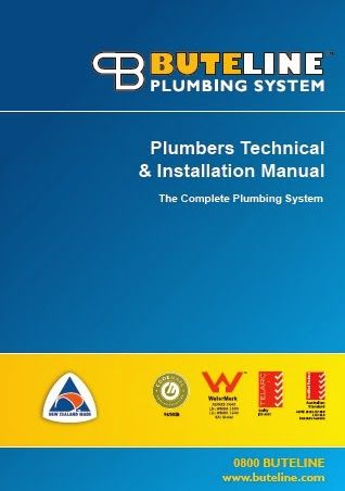 New Buteline Nz Plumbers Technical Installation Manual Available Now From H Installation Manual Plumber Installation