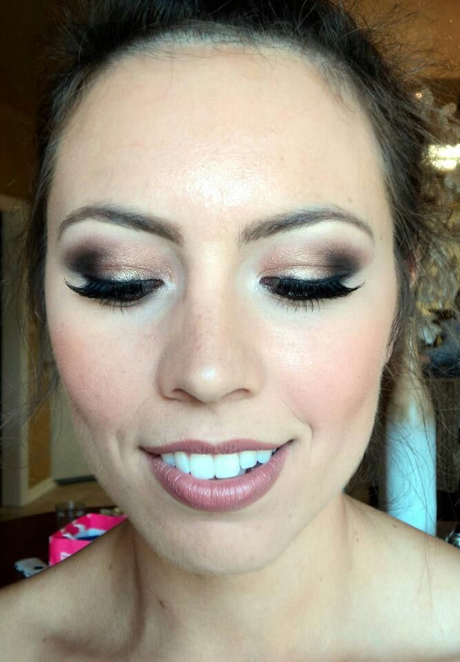 Makeup by Wendy Zerrudo. #bridal #wedding makeup. All about the eyes