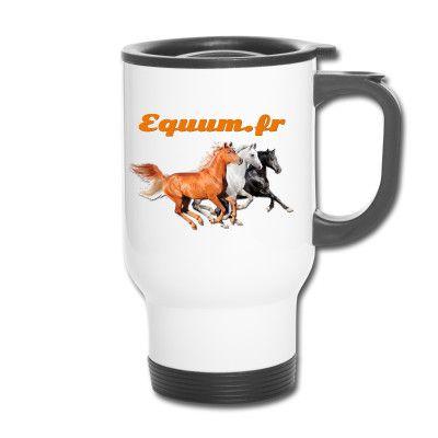 Actualité conseil cheval & équitation : Gagnez un Mug-thermo en apportant une idée géniale pour le site Equum.fr