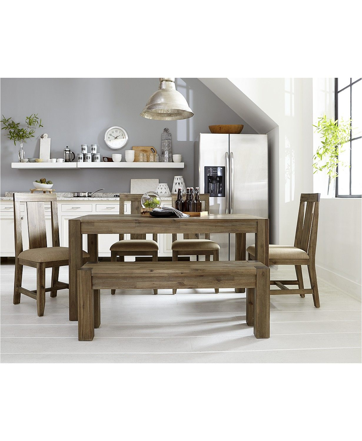 Furniture Canyon Small 7 Pc Dining Set 60 Dining Table 6