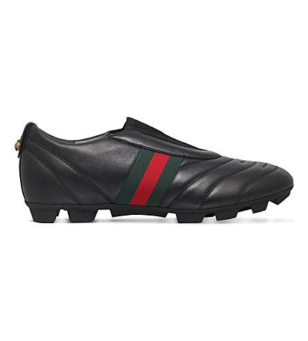 1fbfb703e GUCCI Titan Leather Football Boots.  gucci  shoes  trainers