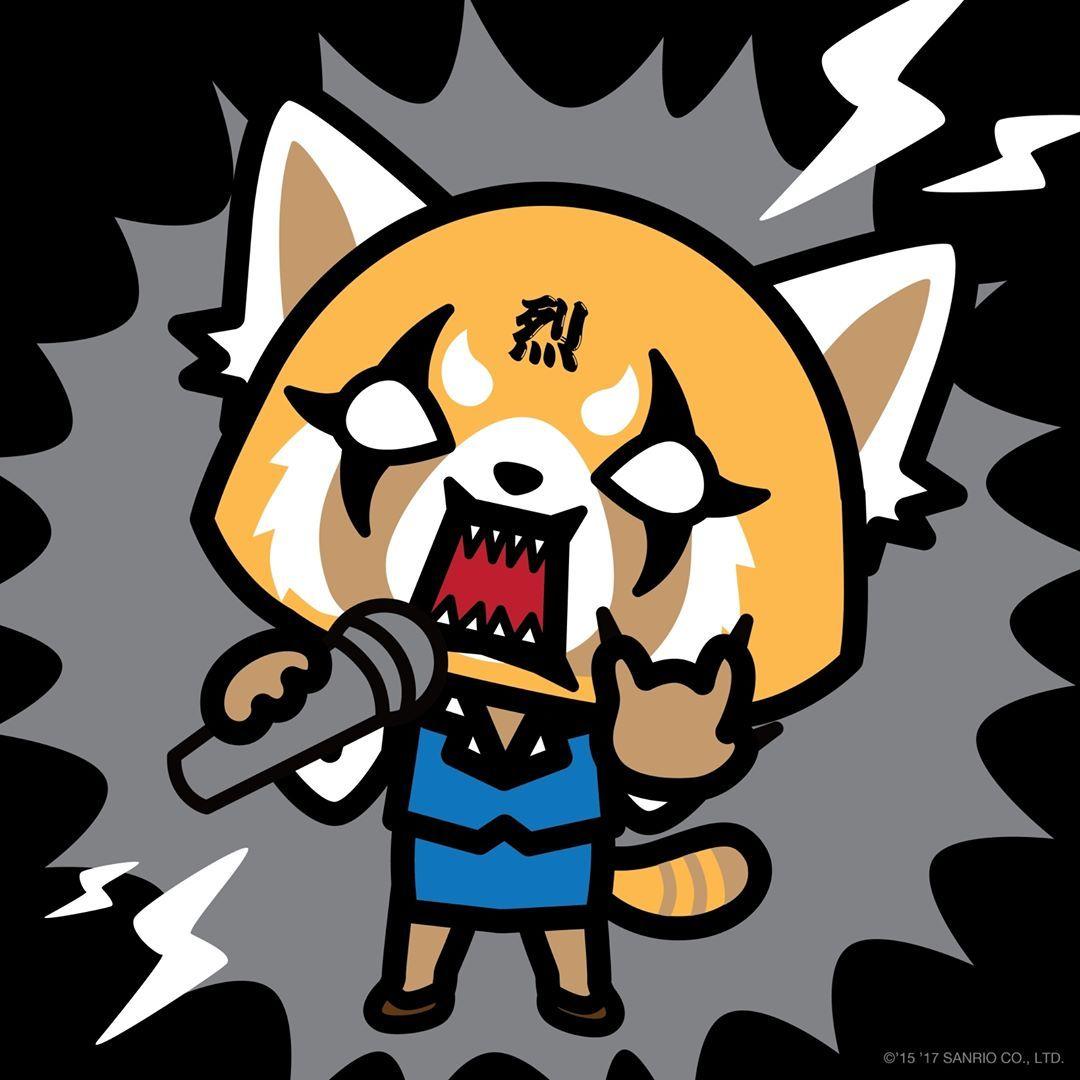 Rock On It S Friday Tgif Aggretsuko Anime Artwork