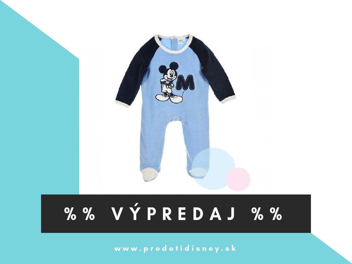 871d71f8f pyžamko Mickey Mouse 💥💥💥Teraz len 4,90€💥💥💥 👉vo veľkostiach 62, 68,  80 Overal pre bábätká disney Disney eshop Slovensko Výpredaj Disney