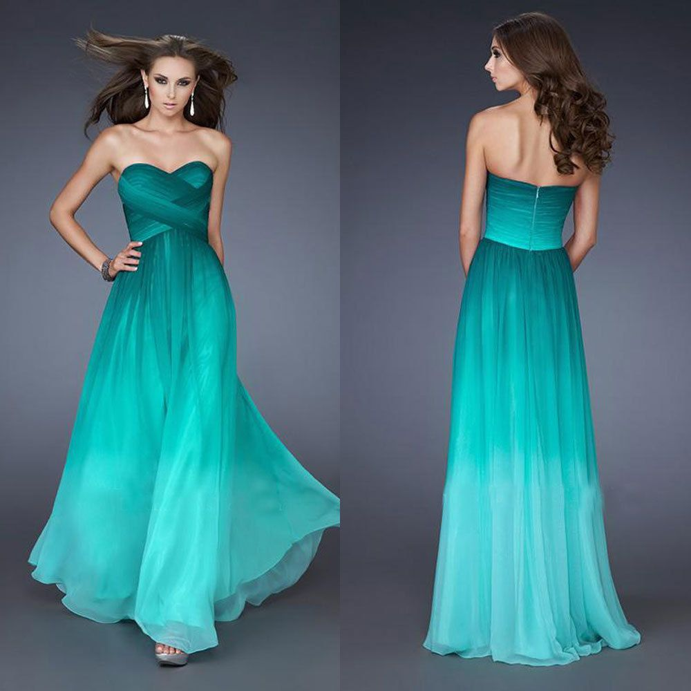 Cheap green chiffon prom dress, Buy Quality prom dresses 2016 ...