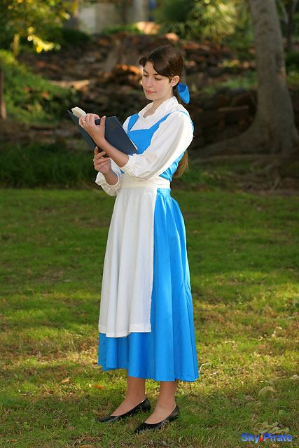 Belle Blue Dress | belle blue dress costume beauty and the beast ...