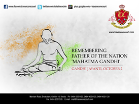 On Gandhi Jayanti, lets pay our tributes to the messiah of non-violence & take leadership in creating better polity in India, to build a best India. Happy Gandhi Jayanti 2013.