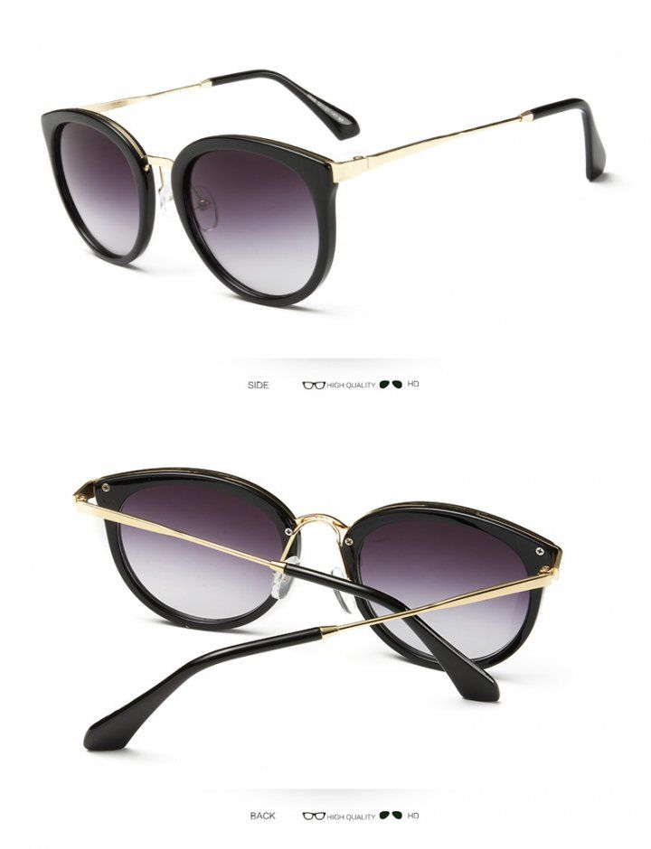OT02914 Colorful unisex round retro Sunglasses