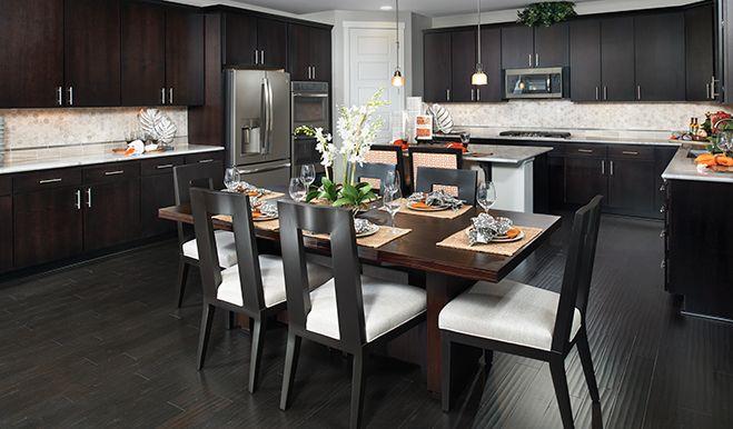 Alexa Was Kitchen Nook Calla Crest Richmond American Homes Auburn