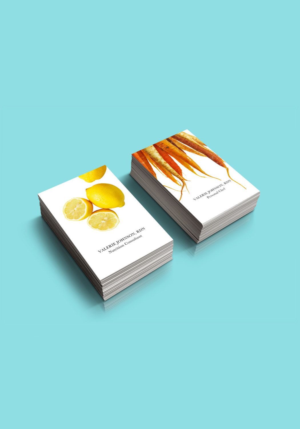 Food + Nutrition Business Card - Personalized for you - Two Designs ...
