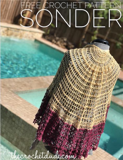 Sonder Free Pattern: ©2017 Drew Emborsky, aka The Crochet Dude ...