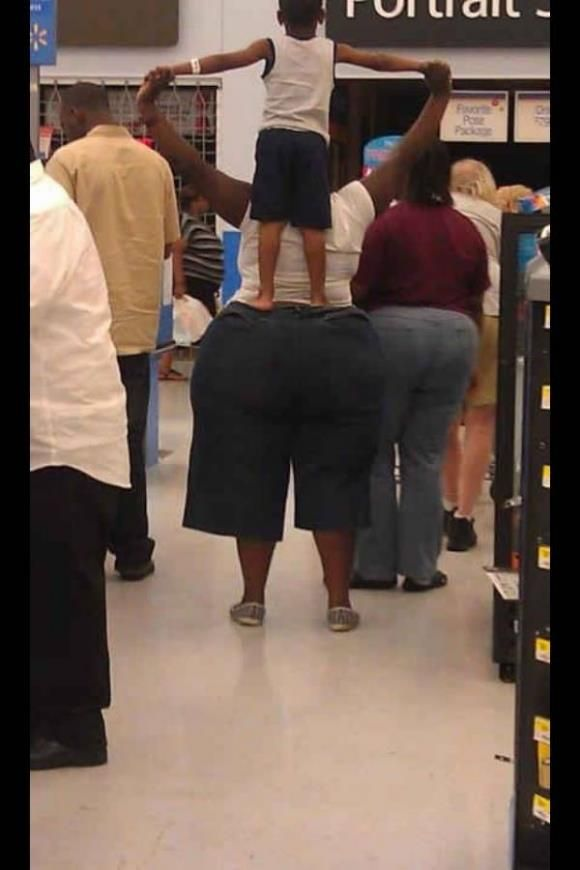 In the meantime at Walmart... No judgments