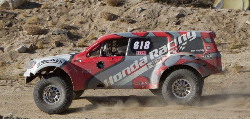 Honda Pilot Offroad Baja Racing
