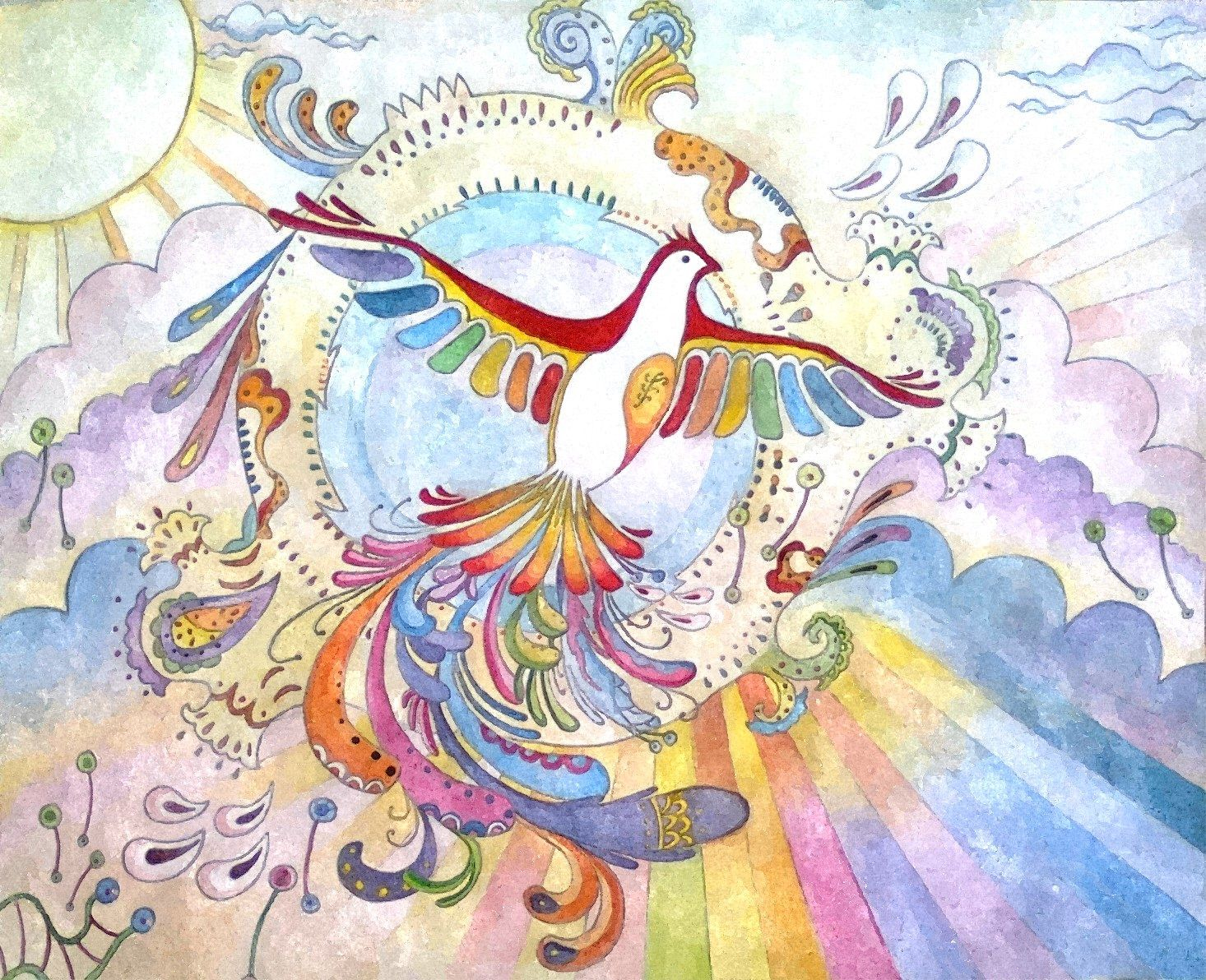 """Abstract Phoenix"""" Illustration Set 