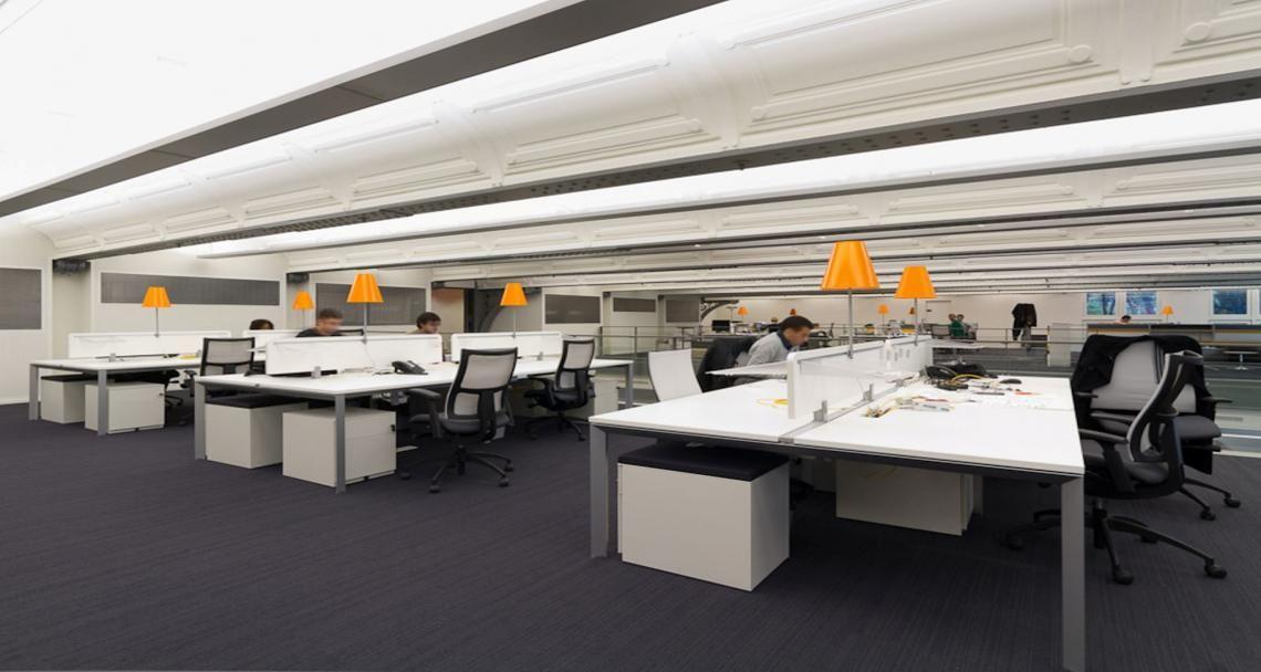 Open space dans les bureaux de valtech à paris france conseil
