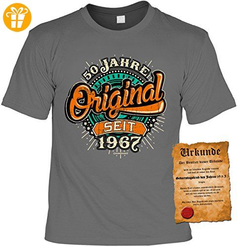 Lustige Spruche Fun Tshirt 50 Jahre Original Seit 1967 Geburtstag
