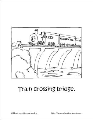 Learn About Trains With A Free Printable Train Coloring Book Coloring Books Train Coloring Pages Book Print