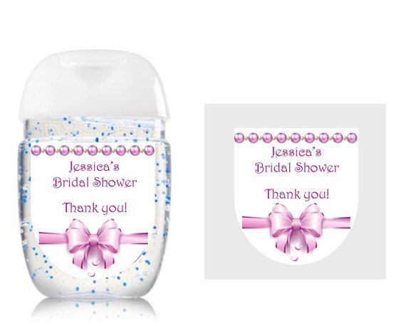 Hand Sanitizer Labels Bath Body Works New Design Bridal