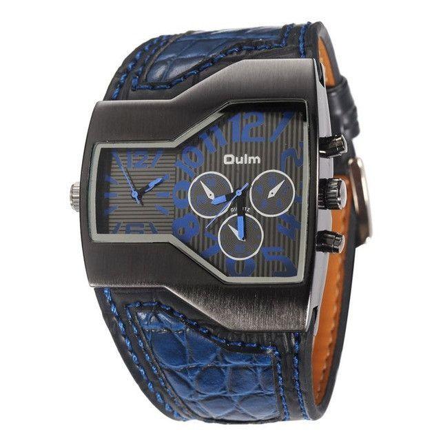 Men's 2 Time Zone Quartz Watch