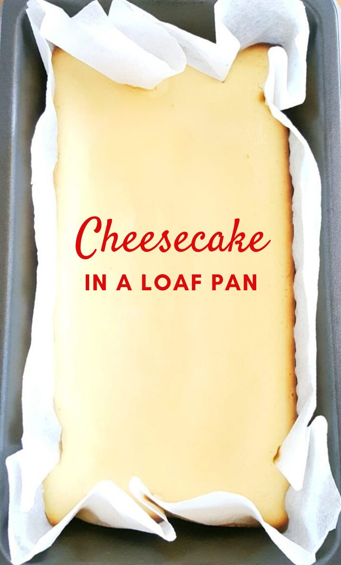 Basic Loaf Pan Cheesecake