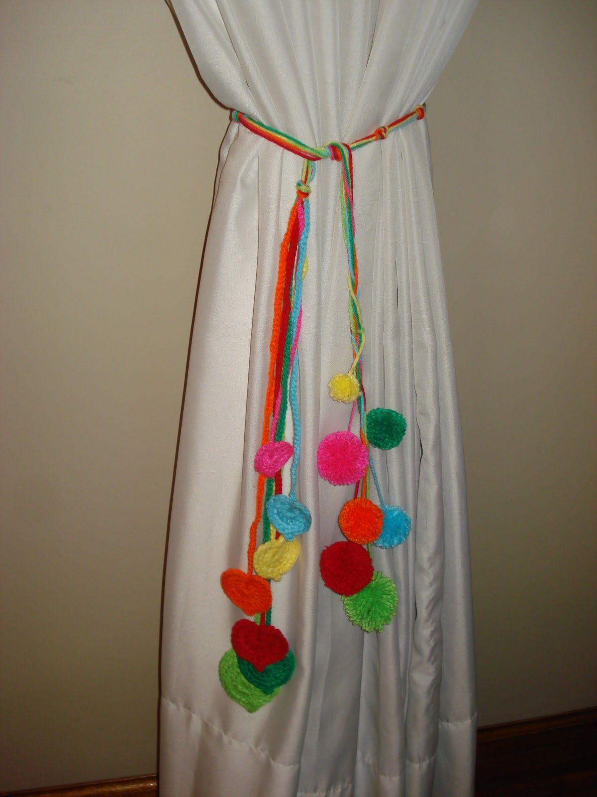 Nuevas cortinas y sujeta cortinas sujeta cortinas for Adornos para cortinas